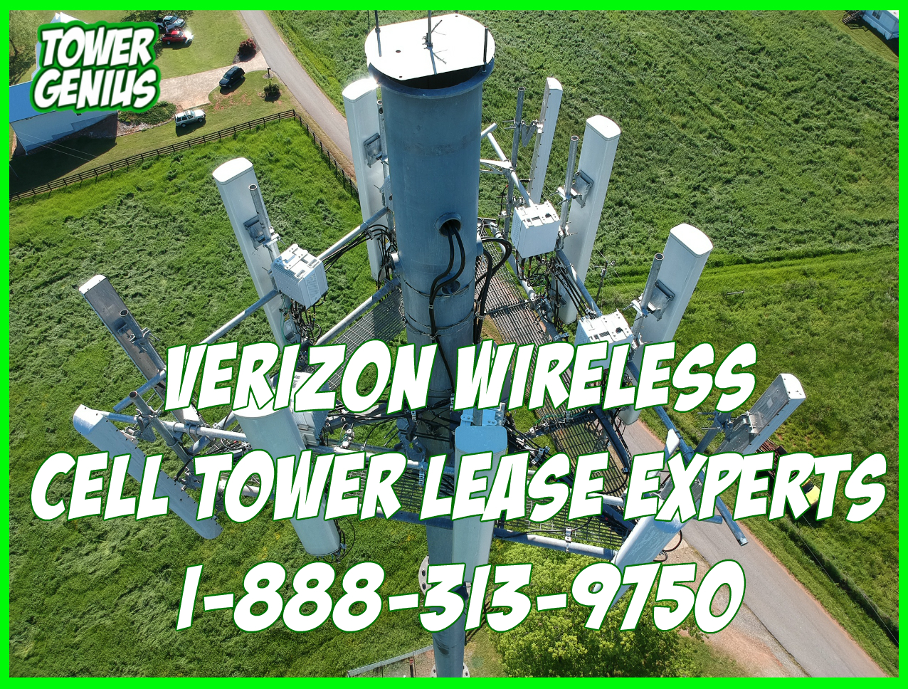 Verizon Wireless Cell Tower Lease Experts | Tower Genius