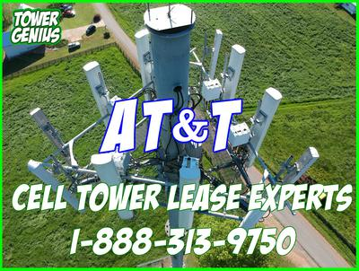 AT&T cell tower lease rates 2021