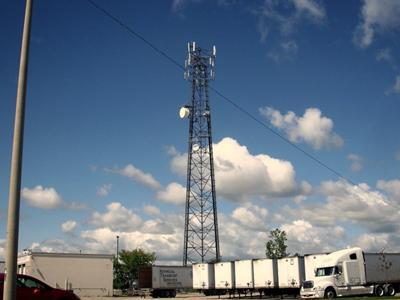Clarke Rd Cell Tower