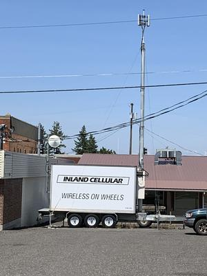 COW - Cell On Wheels - Inland Cellular