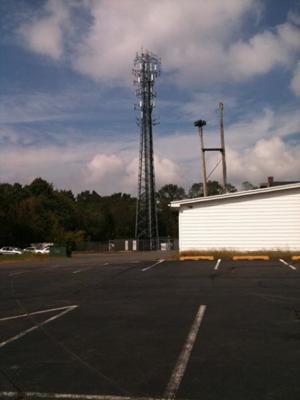Cell tower in Freehold.