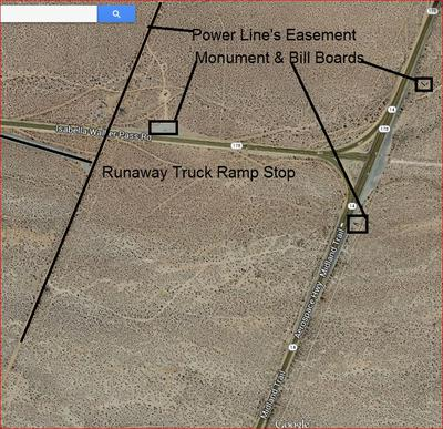 4 corners at an intersection, 127 acres