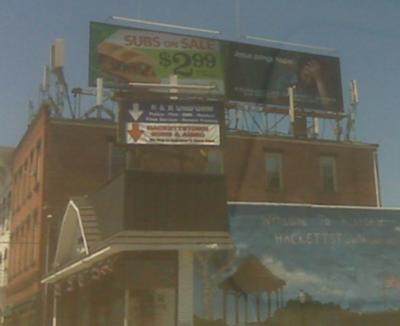 Rooftop Cell Site and Rooftop Billboards, Warren County NJ
