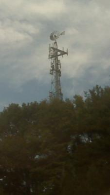 Windmill Lattice Cell Tower