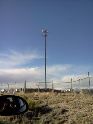 Entering Pueblo West, Colorado